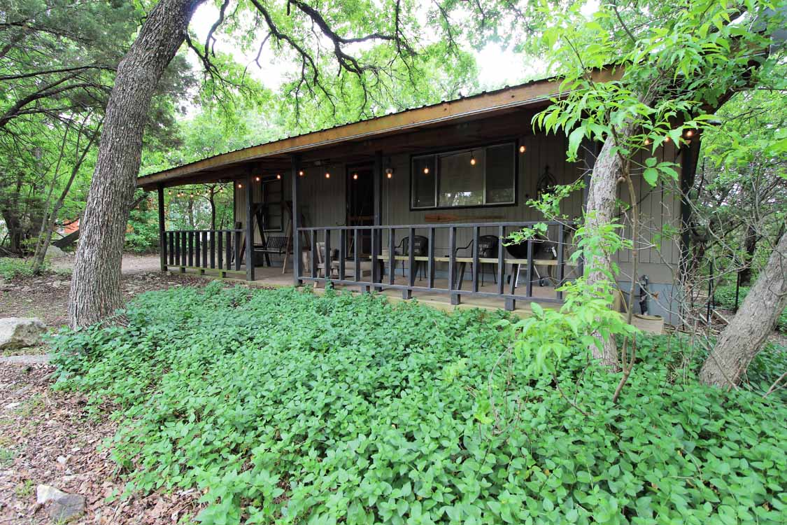 Texas Tin Roof Cabin Photo